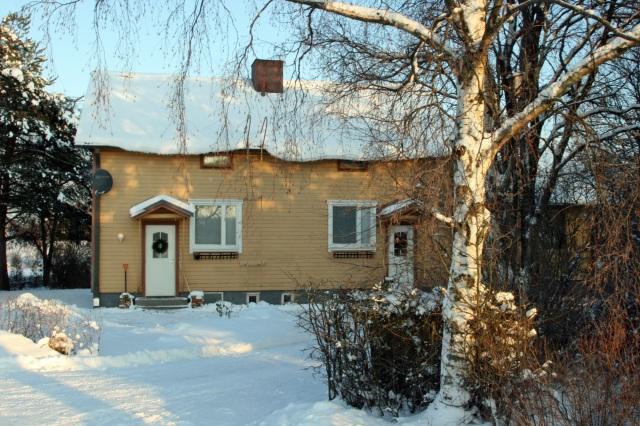 Talo heti muuton jälkeen 1.1.2012