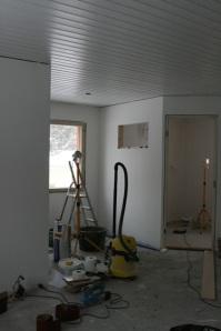 Makuuhuoneen ja kodinhoitohuoneen remontti