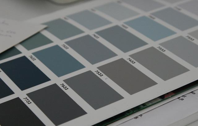 Talon värin valinta