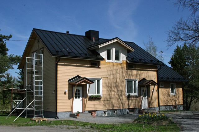 Talo ennen maalausta
