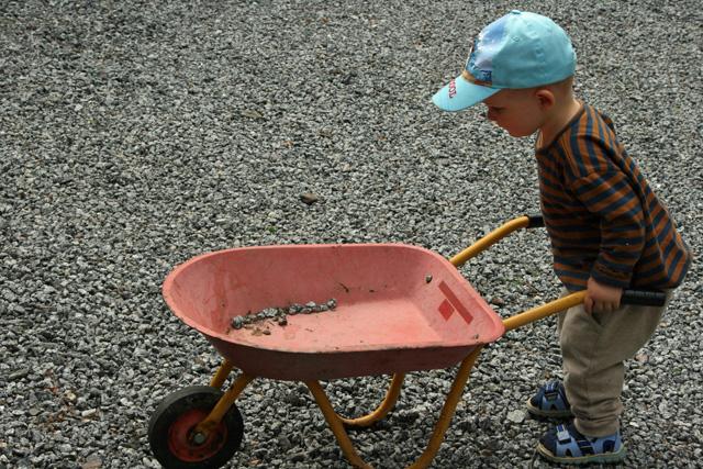 Kottikärryt lapselle