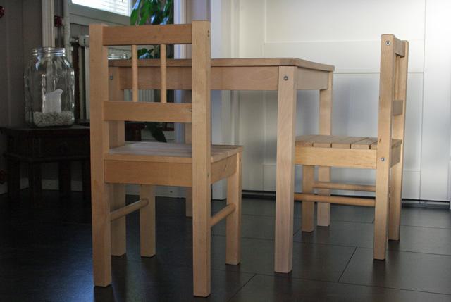 Lapsen pöytä