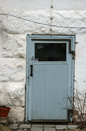 Sininen ovi