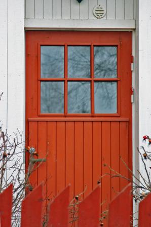 Punainen ovi