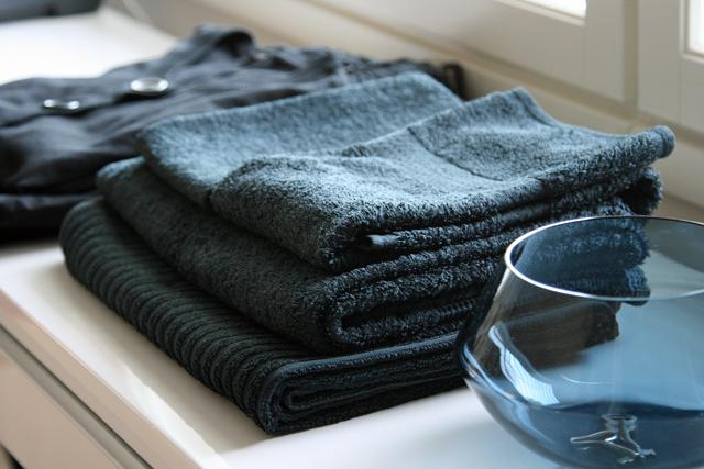 Mustat pyyhkeet