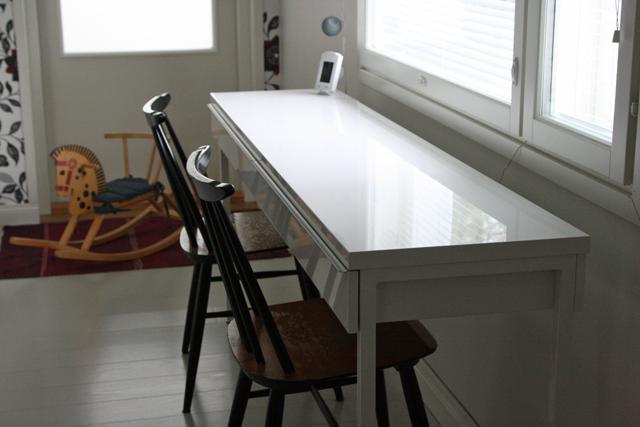 Makuuhuoneen kirjoituspöytä