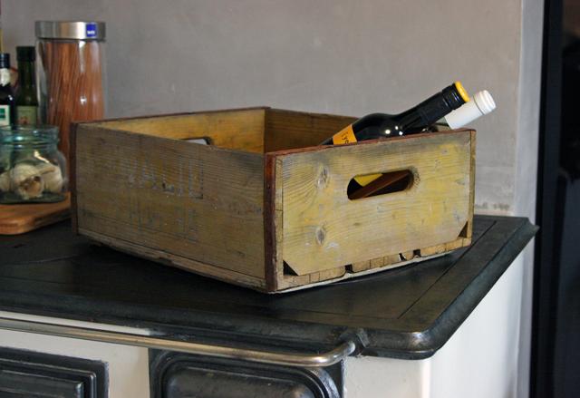 Valion vanha kermalaatikko