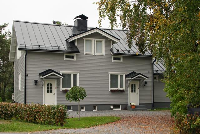 Talon uudet värit