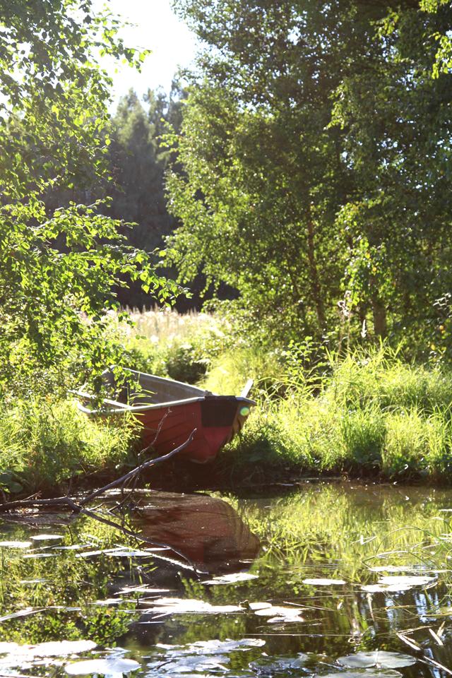 Joen varrella