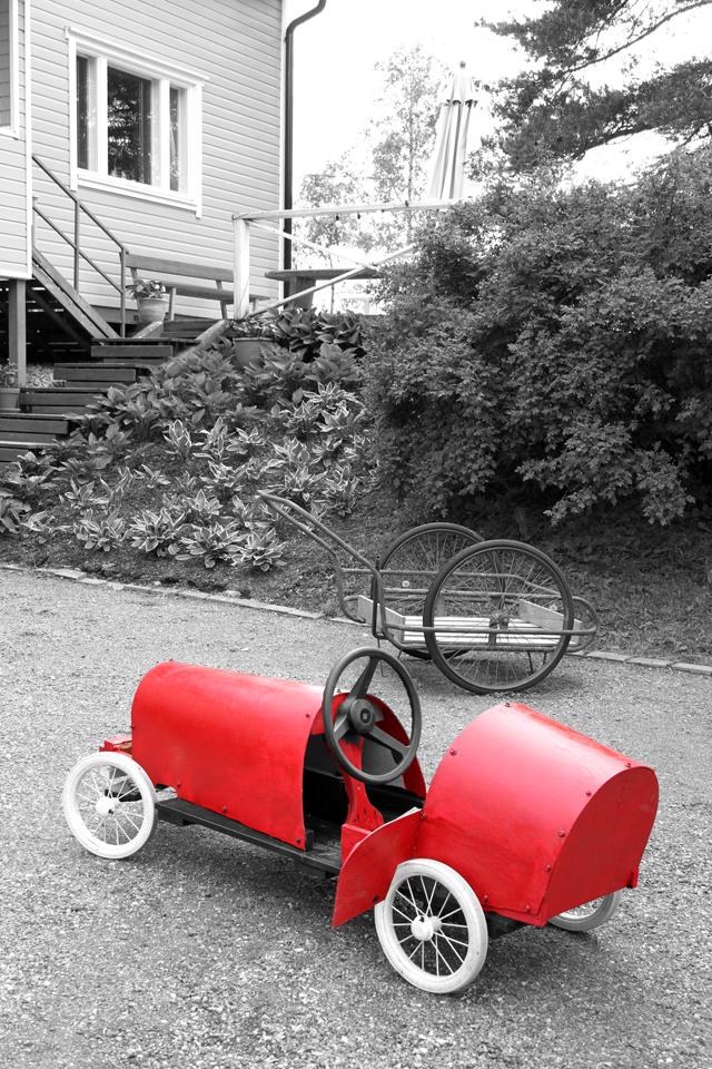 Pikkuapulaisen mäkiauto