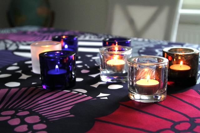 Kivi kynttilälyhdyt